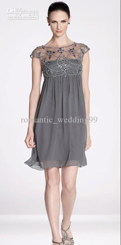 Wholesale 2012 Short Mother Of the Bride Dresses Short Sleeves ...
