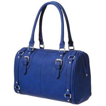 Merona® Solid Satchel - Blue