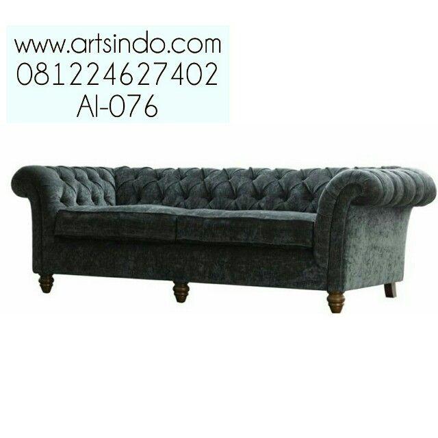 Jual Sofa Santai Elegan Murah AI 076 Model Klasik Vintage Spesifikasi Sofa  Santai Elegan Murah