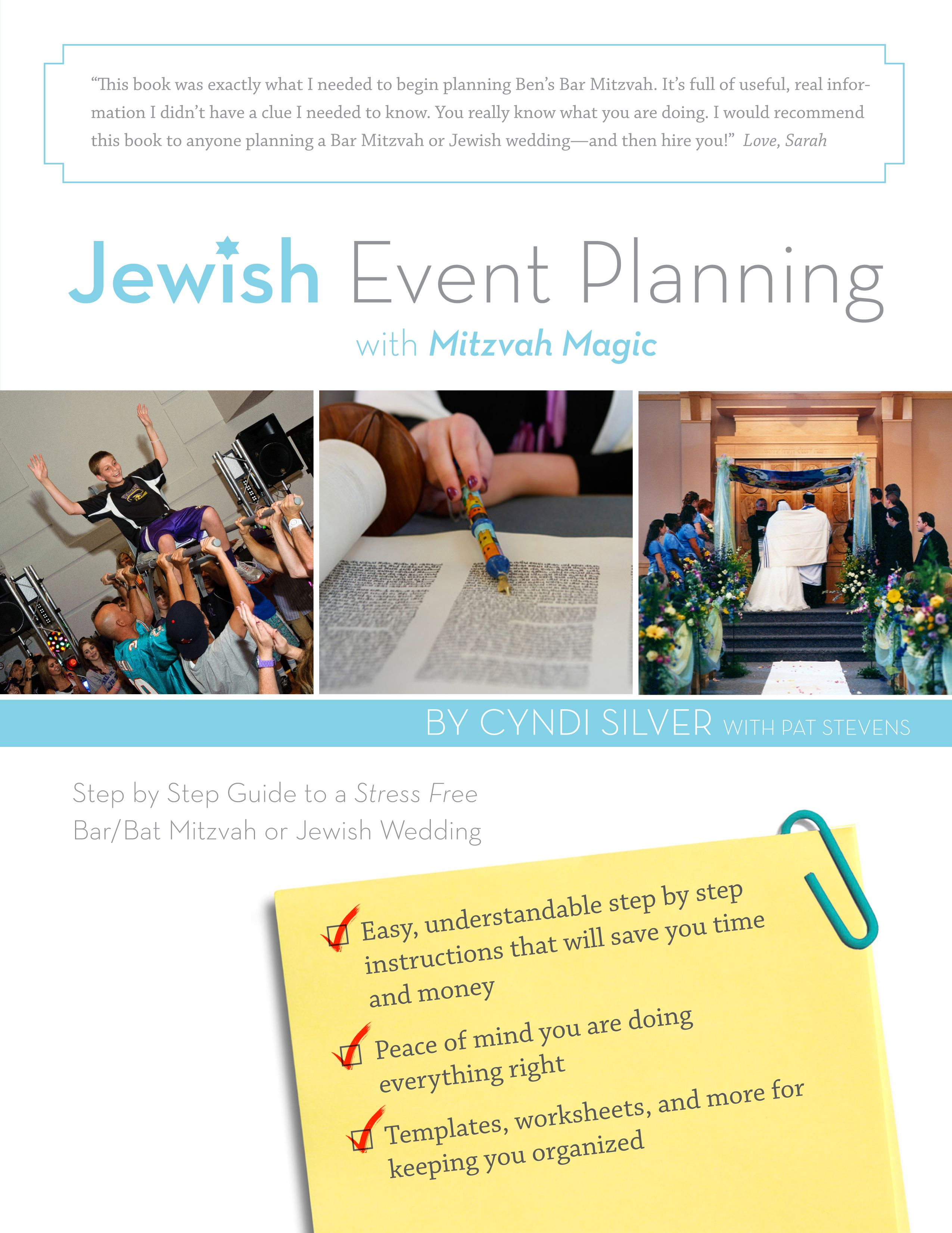 Step By Step Guide To A Stress Free Bar Bat Mitzvah Or