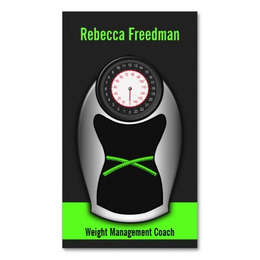 Weight loss coach business cards black and green nutritionist weight loss coach business cards black and green colourmoves Gallery