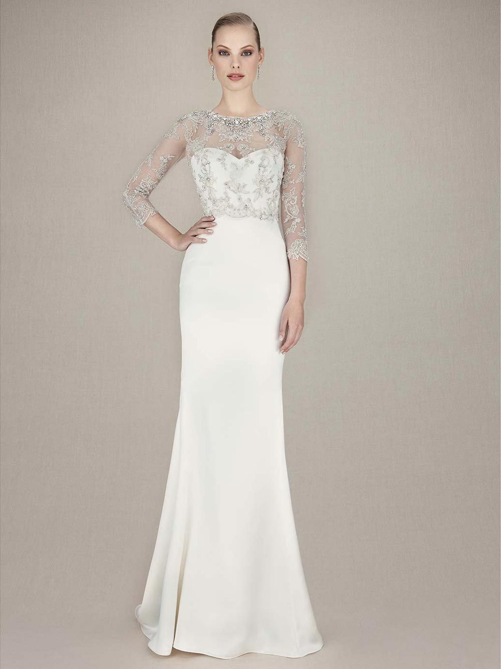 Long Sleeved Wedding Dress Enzoani