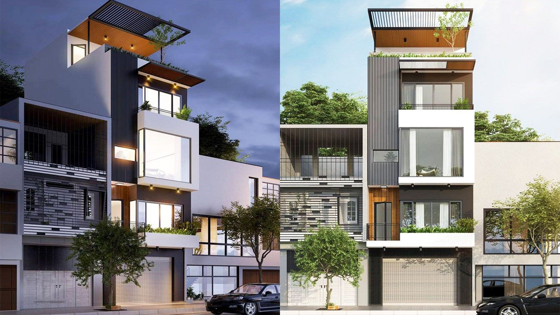 Narrow Lot House Plans 5 9 5m With 4 Bedrooms Narrow Lot House Narrow Lot House Plans House Plans