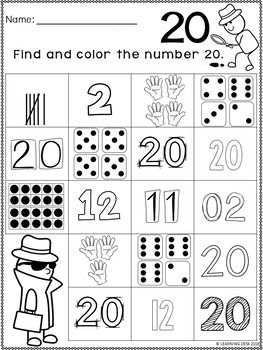 Numbers Worksheets 0 20 Free Math Lessons Math Lessons Fun Math