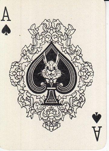 vintage spade card  Details about VINTAGE SINGLE ACE OF SPADES CARD, SWAP ...