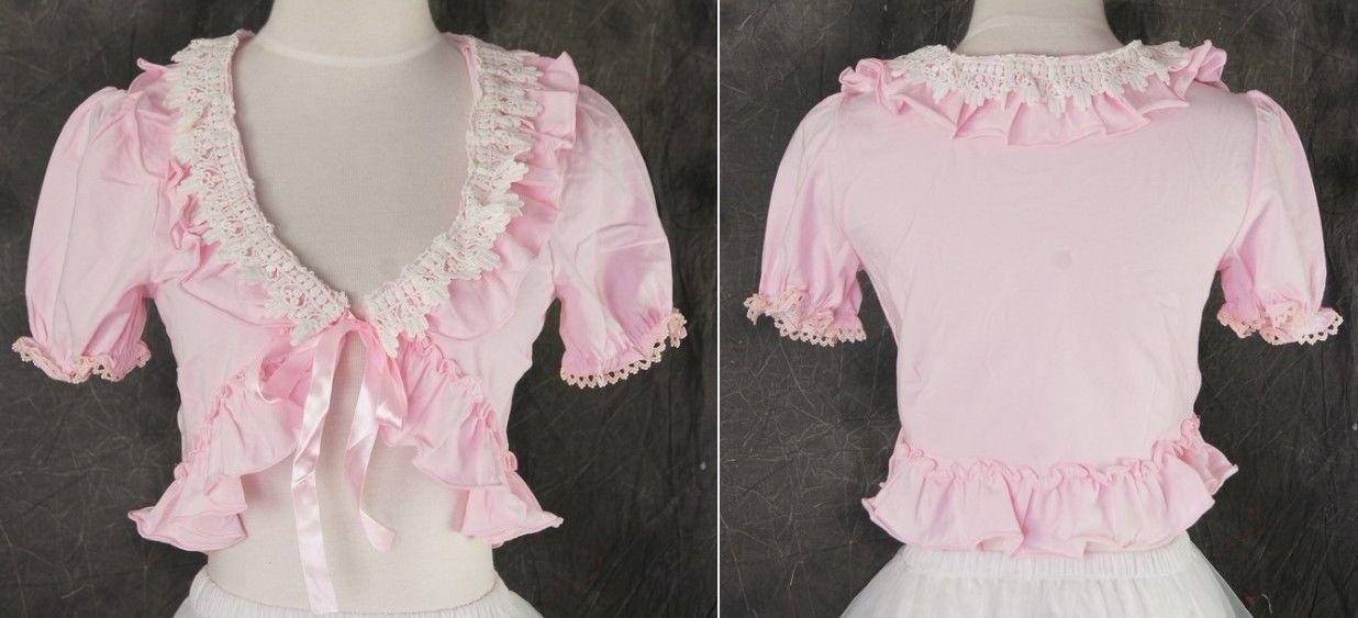 M-03 One Size rosa pink Bolero Gothic Classic Lolita Cosplay Kostüm costume | eBay