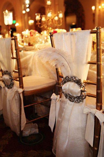 decoracion con plumas tendencias en bodas