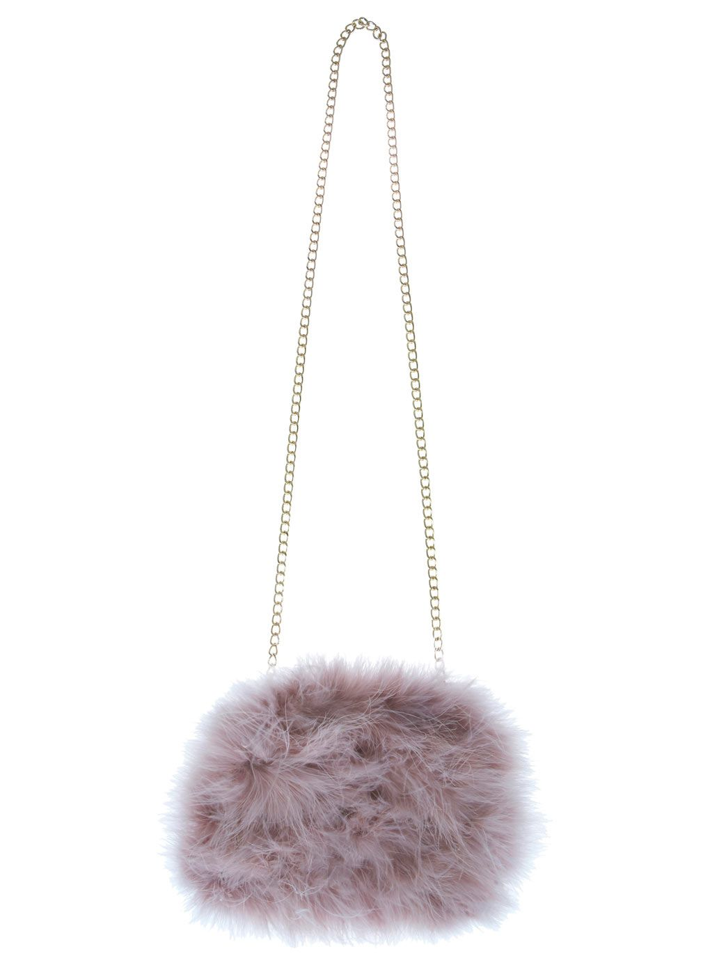 Mink Feather Clutch Bags Purses Accessories Miss Selfridge