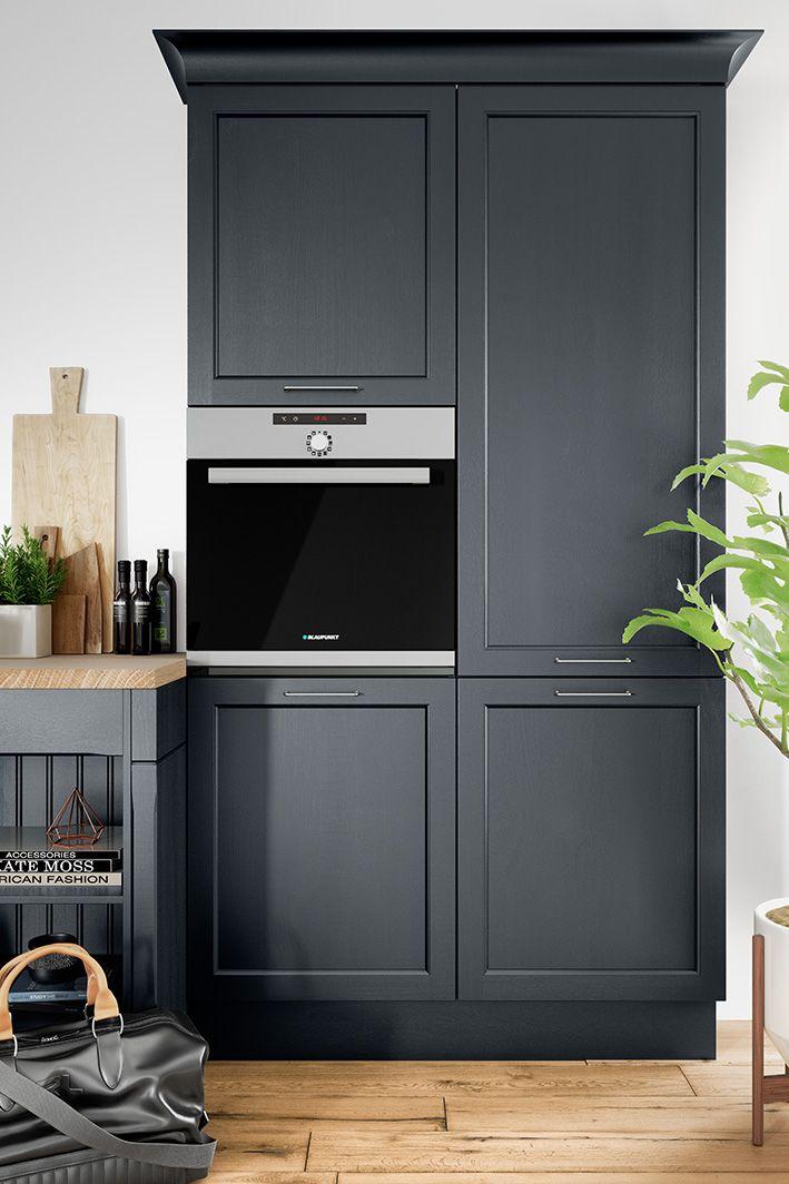 BRISTOL Samtblau\/ Produktlinie classic #häckerküchen #häcker - landhaus modern