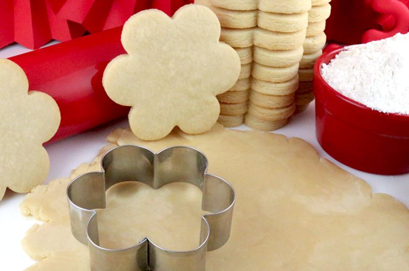 The Best Sugar Cookie Recipe  easy to make soft delicious and keeps the shape of the cookie cutter every single time You family will beg you to make these yummy homemade...