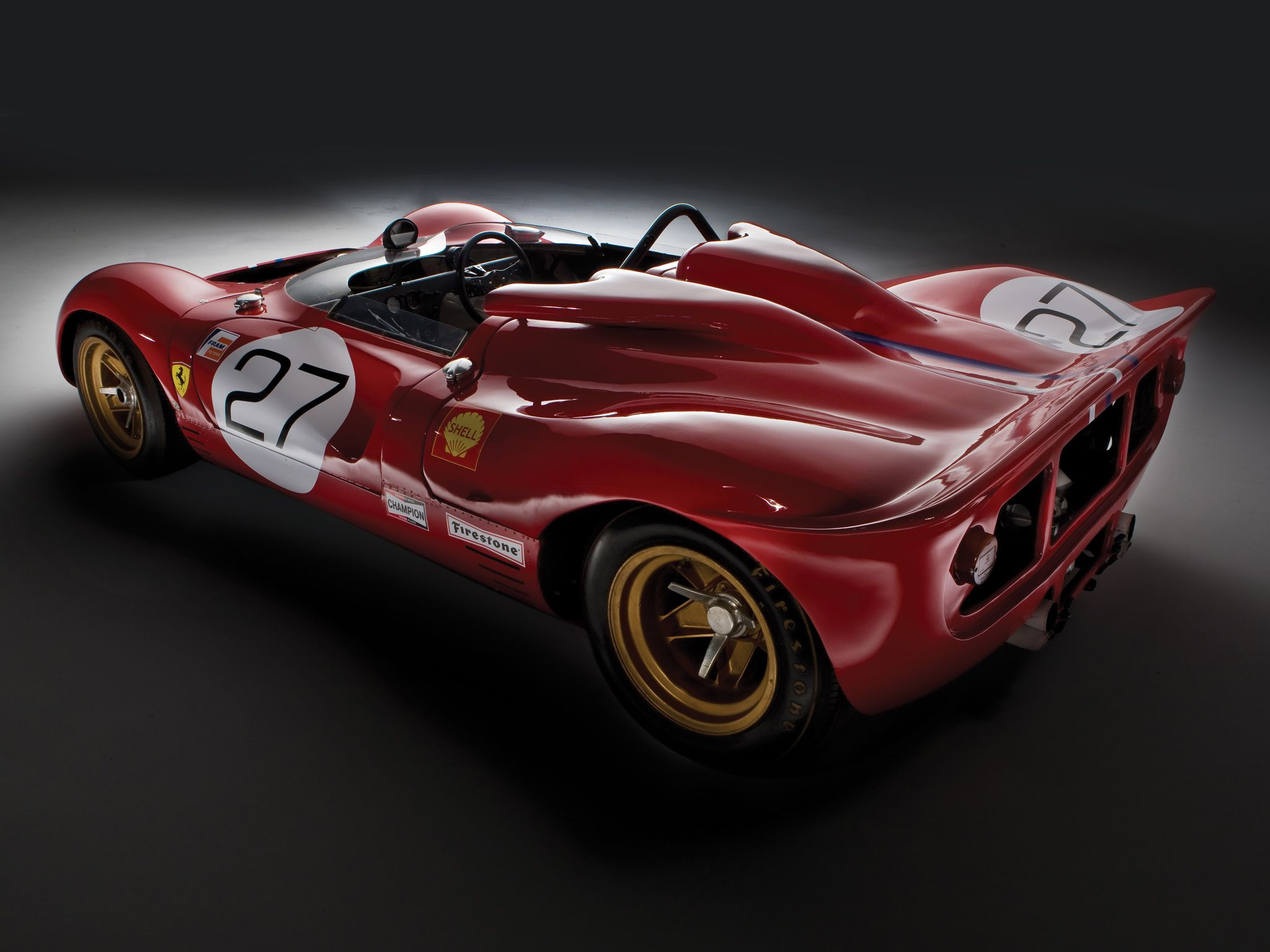 Ferrari 350 P4 Can-Am (#0858) '1967