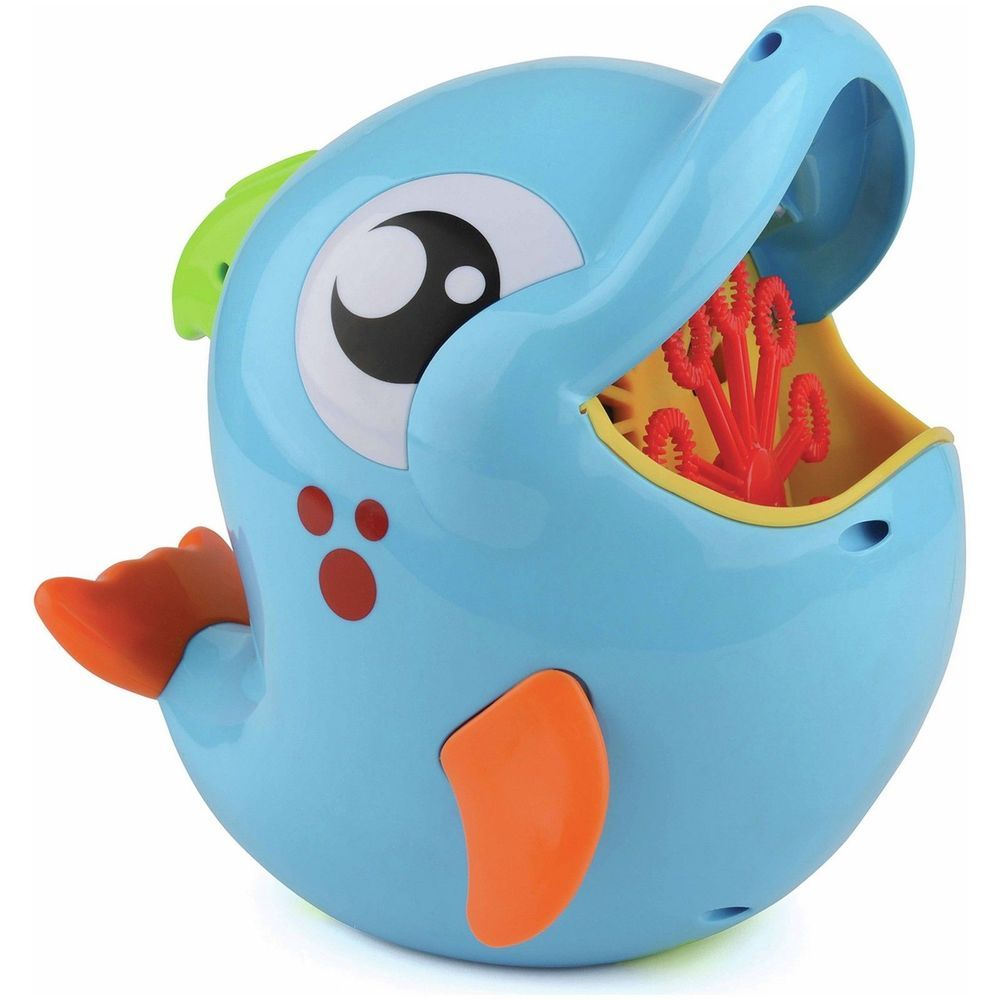 Bath Toy Buddy Dophin: Details About Bubble Buddies Dolphin Toy Bubble Machine