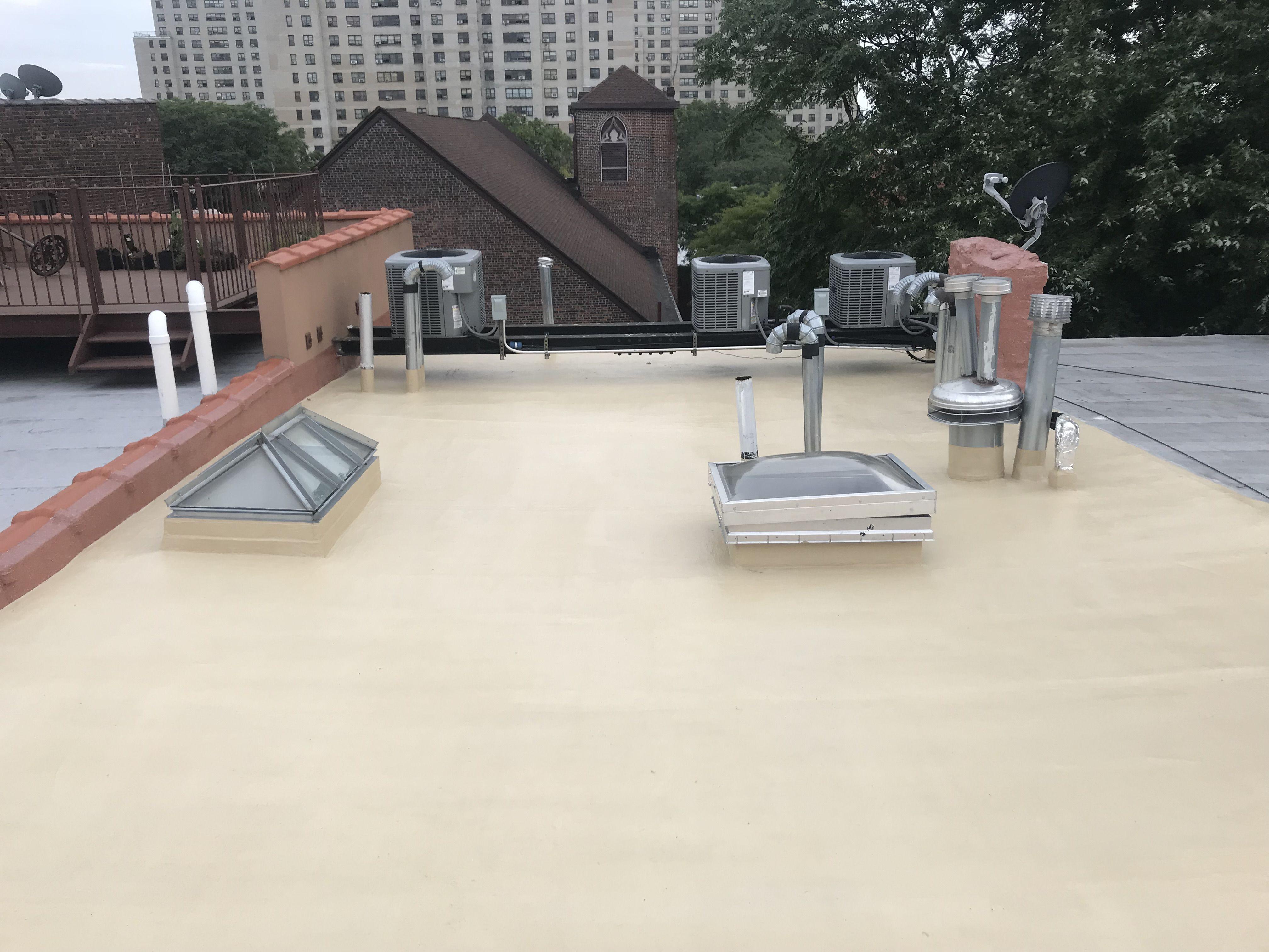 Brownstone Roof Renovation Brooklyn Roof Renovation Flat Roof Roof
