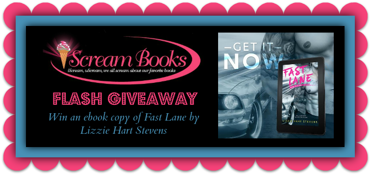FLASH GIVEAWAY: Win an ebook copy of Fast Lane by Lizzie Hart Stevens - iScream Books