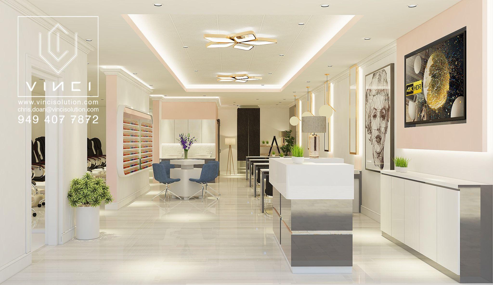 Nail Spas/ Lounges VINCI SOLUTION INC Spa lounge