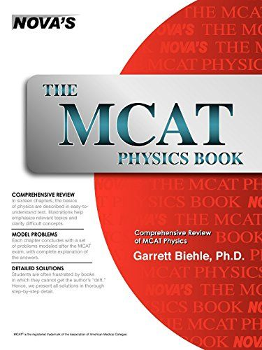 The mcat physics book by garrett biehle medicine pinterest the mcat physics book by garrett biehle fandeluxe Image collections