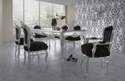 Esstisch + 6 Stühle Esszimmer Sets | Esszimmer set