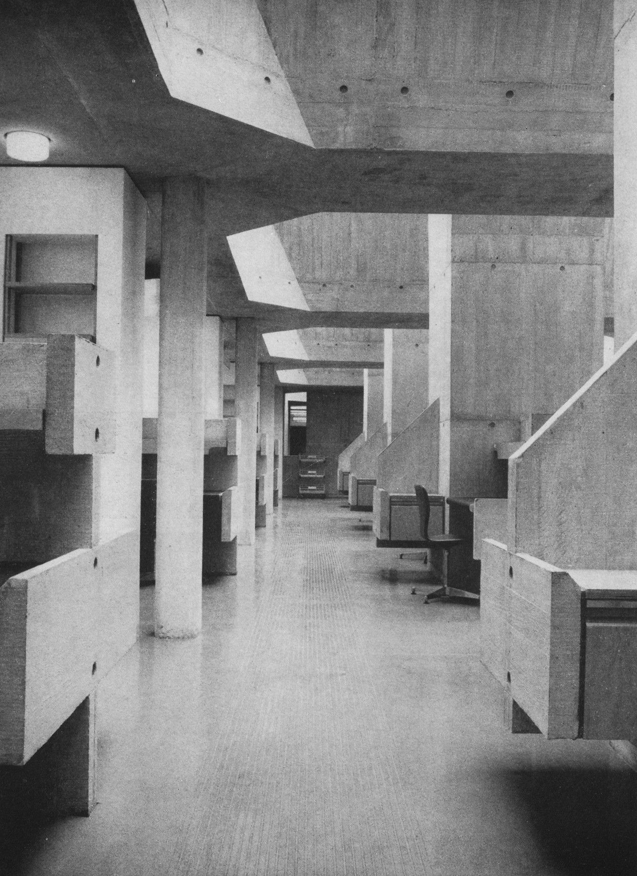 Berkeley Library Trinity College Dublin Ireland 1961 67