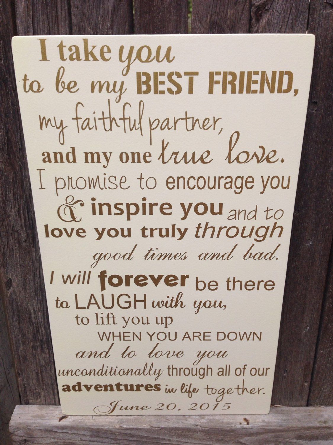 First anniversary gift for him wedding vows sign 1st for First gift for boyfriend birthday