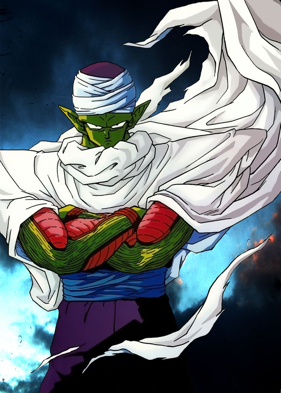 Piccolo is my second favorite character in the series. he is also the smartest character in the show compared to the rest of the fighters.