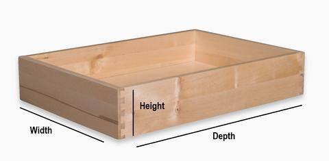 How to measure for replacement cabinet doors, drawer ...