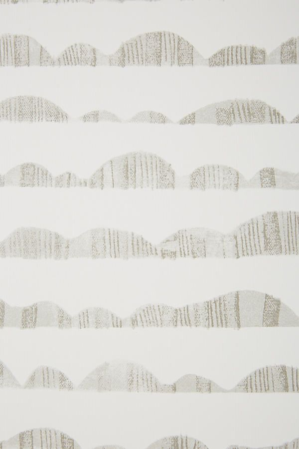 country home accessories #home #accessories #homeaccessories Magnolia Home Hill and Horizon Wallpaper by in Grey, Wall Decor at Anthropologie