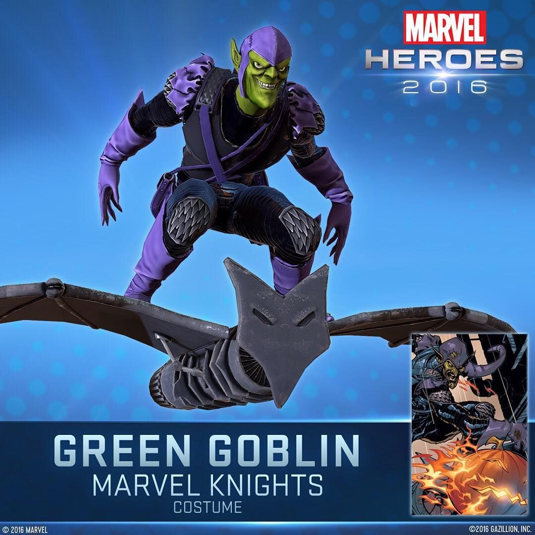Have you played in Green Goblin's alternate costume