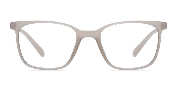 Colorize your palette with these clear white eyeglasses. This ...