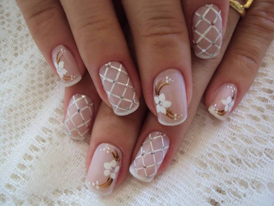 beautiful french Wedding nails | Женский стиль | Pinterest | French ...