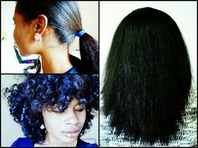 5 Ways To Stretch Natural Hair Without Heat Hair Without Heat Curly Hair Styles Naturally Straightening Natural Hair
