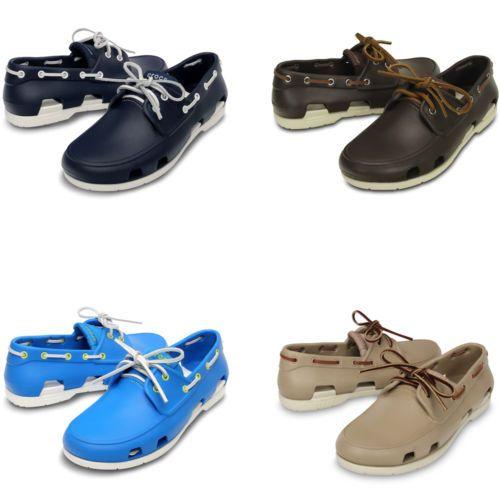 Crocs Beach Line Boat Shoe | Men's Loafer | eBay