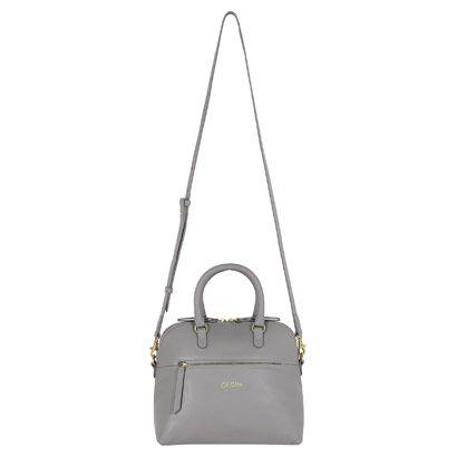 Mini Leather Zipped Handbag