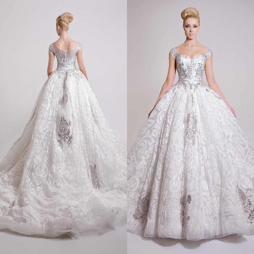 Cheap Ball Gowns Wedding Dresses 2016 Vintage Victorian Ball Gown