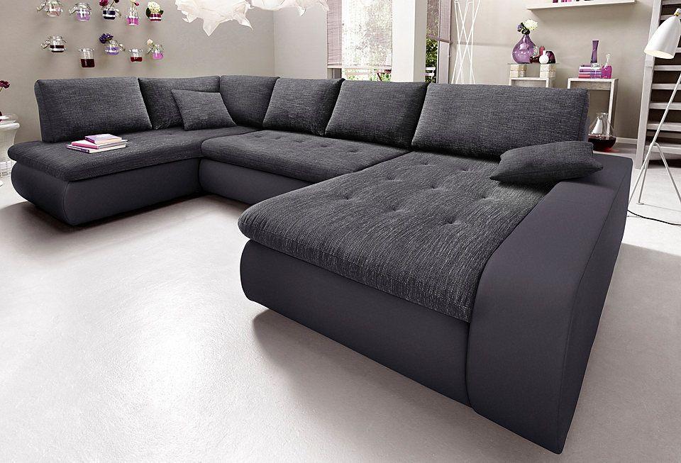 Trendmanufaktur Wohnlandschaft, wahlweise XL oder XXL Jetzt - wohnzimmer couch günstig