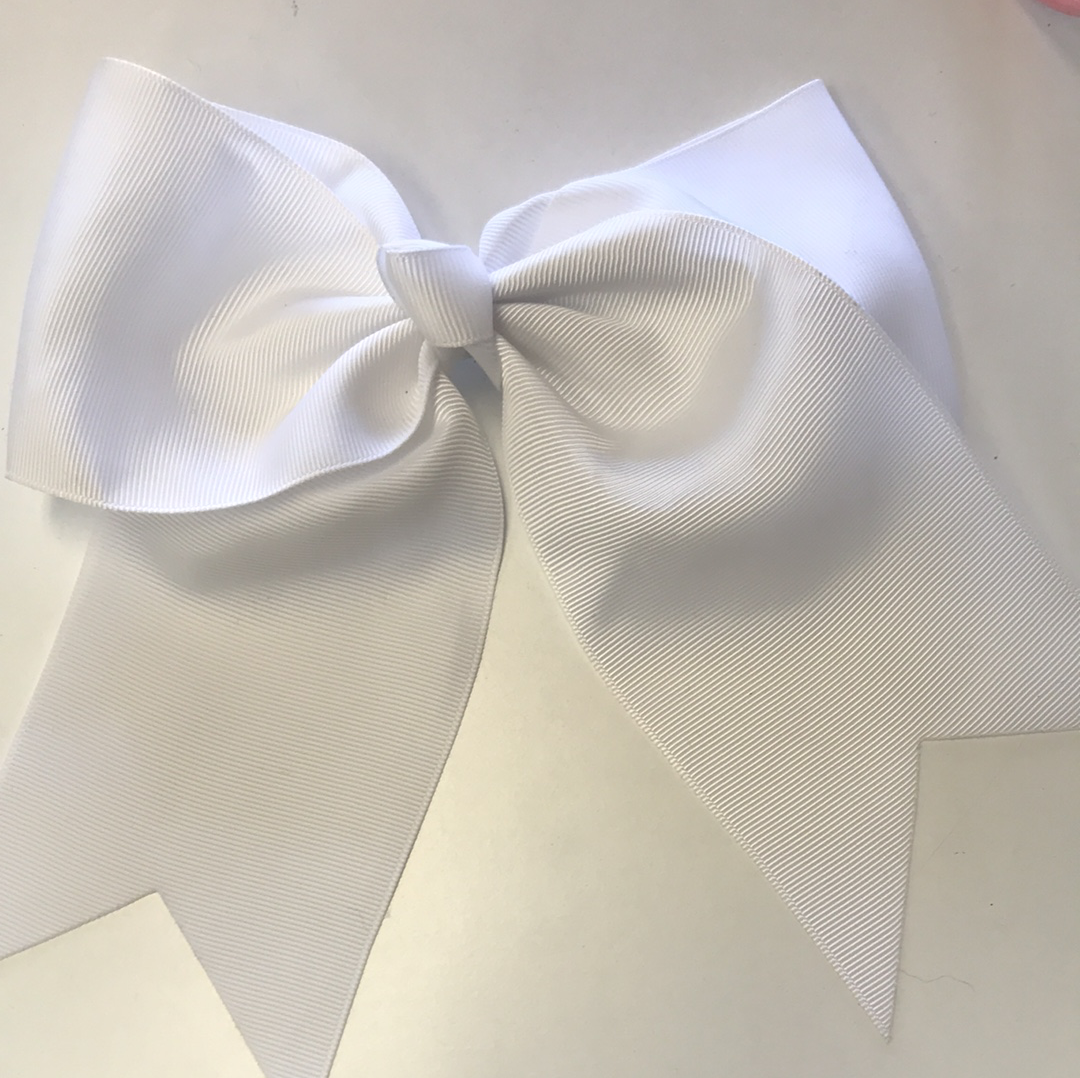 Photo of Hair Clip White Bow