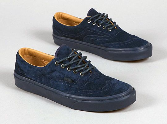 25f2ebcdee649f Vans Era Wingtip CA Suede Dress Blue - The Shoe Buff - Men s Contemporary  Shoes and Footwear