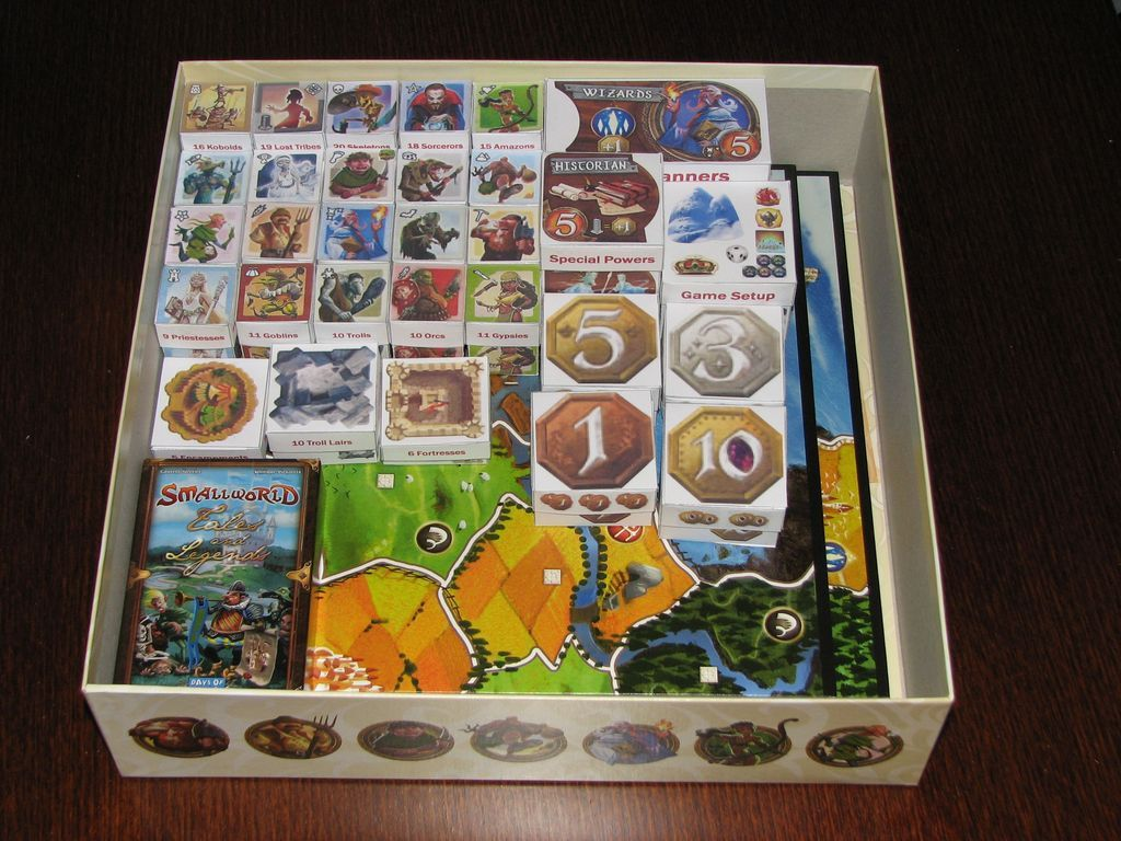 rangements Smallworld Board game hacks, Board games, Games