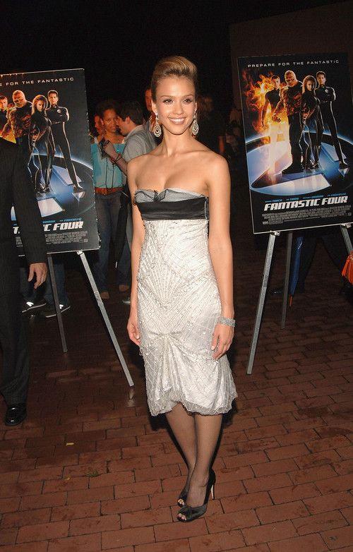 2d7d4dddd6e Jessica Alba at Fantastic four Premiere in Gucci