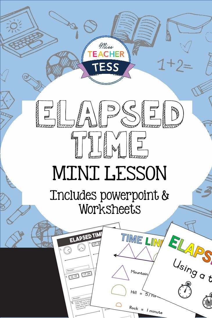 elapsed time mini lesson k 6 math gems elementary math 3rd grade math elapsed time. Black Bedroom Furniture Sets. Home Design Ideas