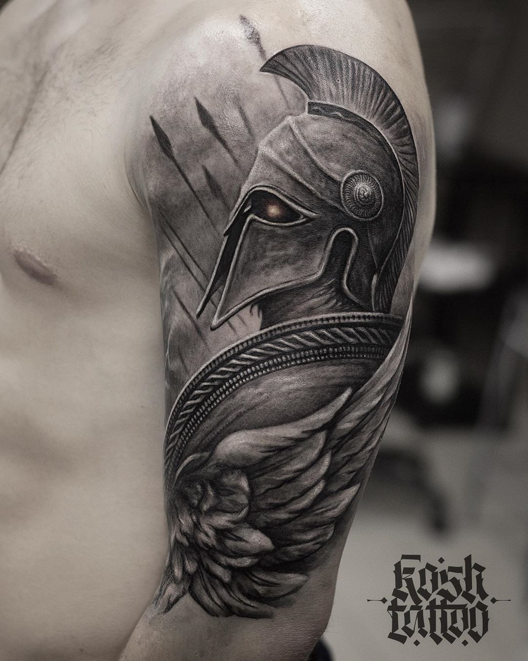 Arm schulter tattoos männer Tattoo Vorlagen