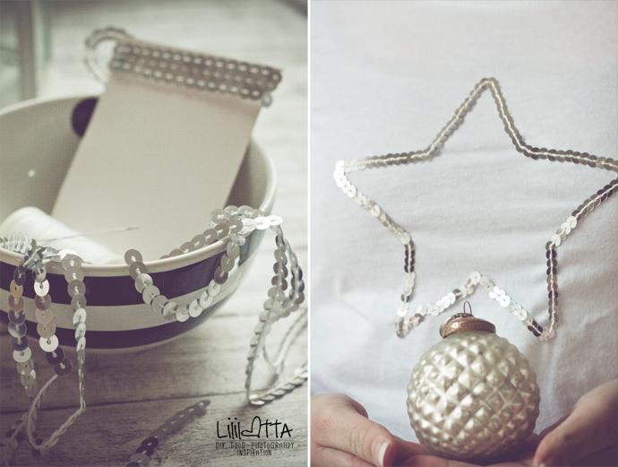 Lililotta The Blog: DIY/Pailletten-Stern-Shirt & Lieblingsschal