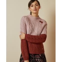 Photo of Pullover Mit Zopfstrick Ted BakerTed Baker