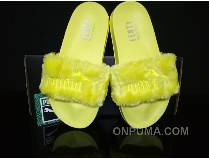 http   www.onpuma.com puma-by-rihanna- · Yellow OnlineFur SlidesYellow ... d771648ea779