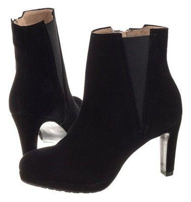 Buty Damskie Botki Venezia 7182k115 Nero Czarne 6554551876 Oficjalne Archiwum Allegro Shoes Heels Stiletto Boot