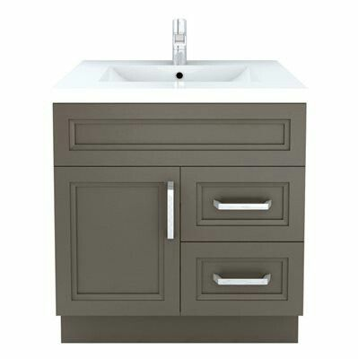 Curity Vanity from Lowe's Bathroom wallpaper