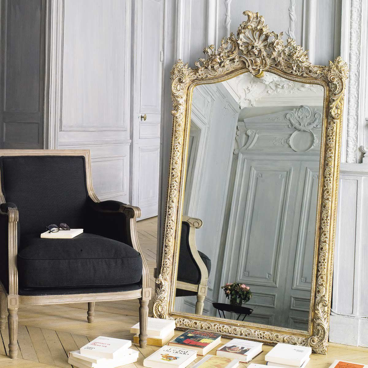 miroir dor 85x153 en 2019 miroir mon beau miroir. Black Bedroom Furniture Sets. Home Design Ideas