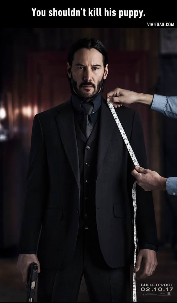 Keanu Reeves John Wick Chapter 2 The Handsome Warrior