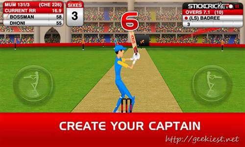 Stick Cricket Premier League is available for Windows