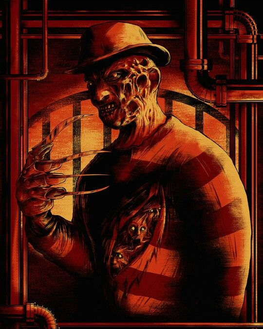 Freddy Horror Pinterest Art movies, Horror and Movie