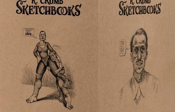 "Juxtapoz Magazine - New Book Collection: ""Robert Crumb. Sketchbooks 1964–1982"